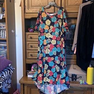 Lularoe multicolored floral dress